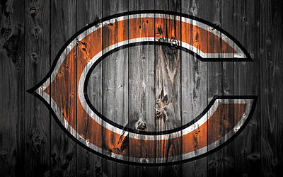 Soldier Field Mixed Media - The Chicago Bears 2b by Brian Reaves