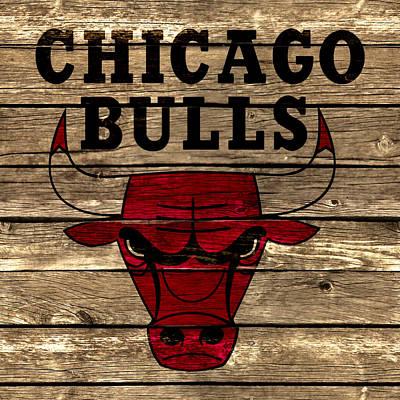 The Chicago Bulls 2a Art Print