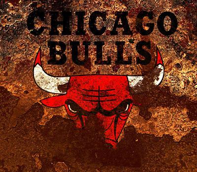 The Chicago Bulls R1 Art Print