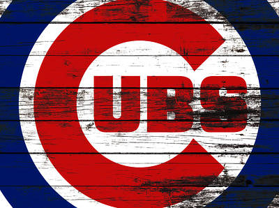 Wrigley Field Mixed Media - The Chicago Cubs 3f       by Brian Reaves