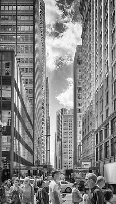 Art Print featuring the photograph The Chicago Loop by Howard Salmon