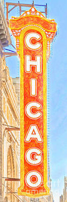Photograph - The Chicago Theatre 20180428 V2 by Wingsdomain Art and Photography