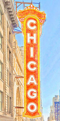 Photograph - The Chicago Theatre 20180428 by Wingsdomain Art and Photography