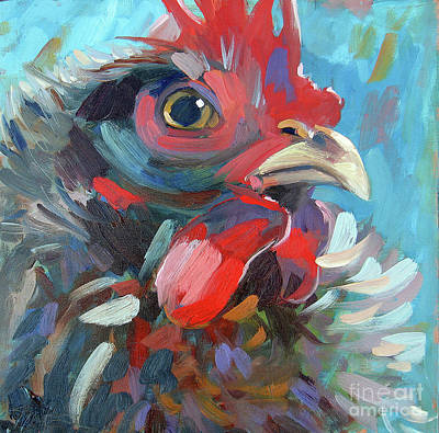 Painting - The Chicken King by Sandra Smith-Dugan