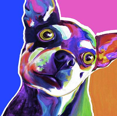 The Chihuahua By Nixo Art Print