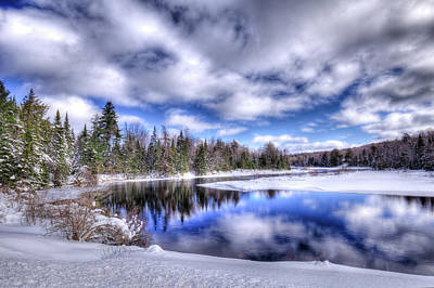 Photograph - The Chilly Meandering Moose River by David Patterson