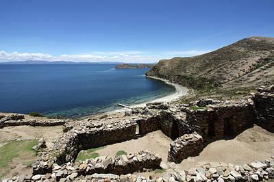 Photograph - The Chincana Ruins  by Aidan Moran