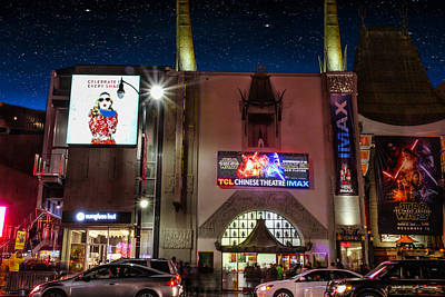 Photograph - The Chinese Theater by Robert Hebert