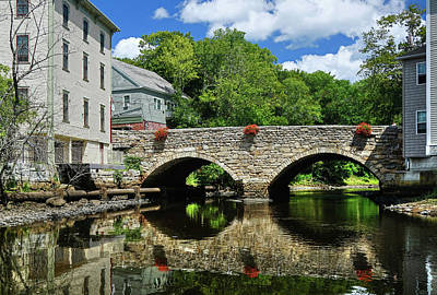 Photograph - The Choate Bridge by Wayne Marshall Chase