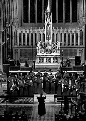 Photograph - The Choir At St Mary's Cathedral by Miroslava Jurcik