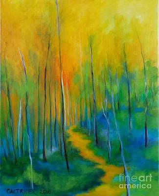 Painting - The Chosen Path  by Alison Caltrider