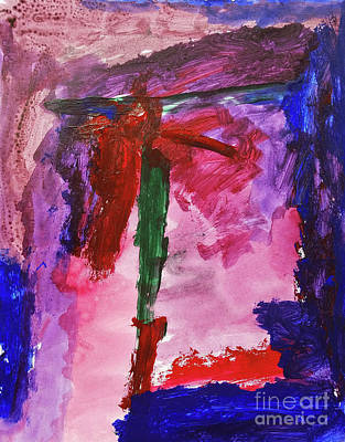 Painting - The Christ by Norval Hall