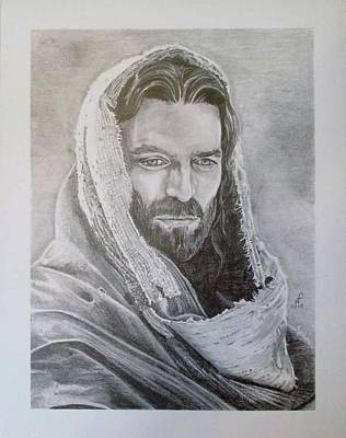 Jesus Christ Drawing - The Christ by William Ford