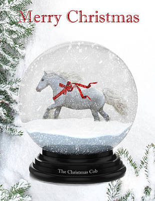 Gypsy Cob Digital Art - The Christmas Cob by Terry Kirkland Cook