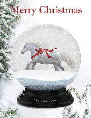 The Christmas Cob Print by Terry Kirkland Cook