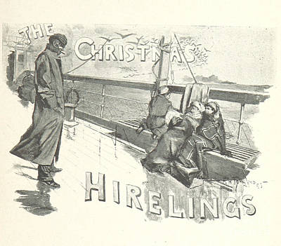 Drawing - The Christmas Hirelings by R Muirhead Art