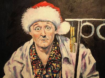 Painting - ' The Christmas Melick' by Kevin McKrell