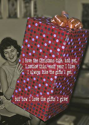 The Christmas Story Quote Art Print by JAMART Photography