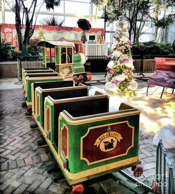 Photograph - The Christmas Train by Kerri Farley