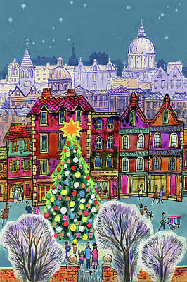 Painting - The Christmas Tree by Stanley Cooke