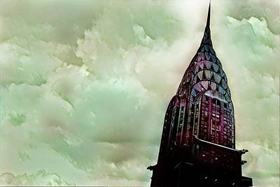 Photograph - The Chrysler Building Early Morning by Russ Harris