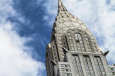 Photograph - The Chrysler Building by Robert J Caputo