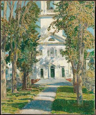 The Church At Gloucester Original by Childe Hassam