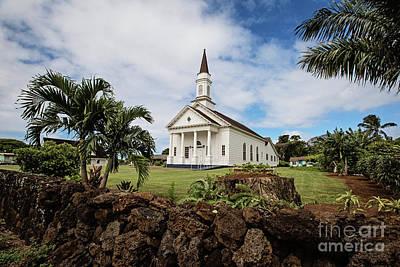 Photograph - The Church At Koloa by Scott Pellegrin