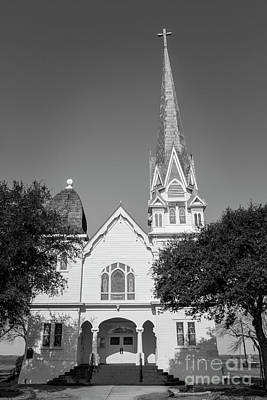 Photograph - The Church In New Sweden by David Cutts