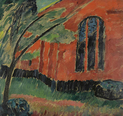 Painting - The Church In Prerow by Alexej von Jawlensky