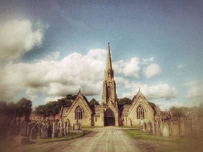 Photograph - The Church by Isabella F Abbie Shores FRSA