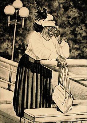 The Church Lady Art Print