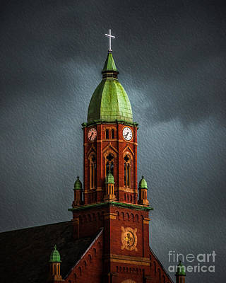 Photograph - The Church  by Michael Arend