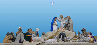 Photograph - The Church Nativity by D Hackett