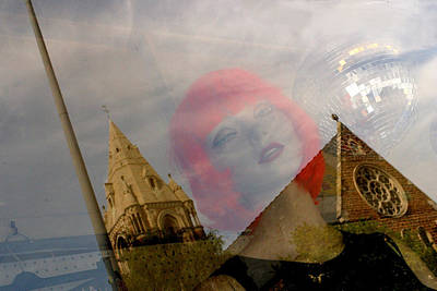 Photograph - The Church Of Janet by Jez C Self