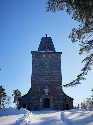 Photograph - The Church Of Karkku by Jouko Lehto