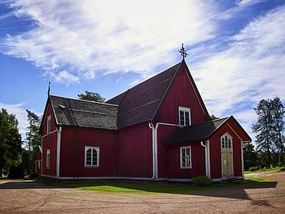 Photograph - The Church Of Kustavi by Jouko Lehto