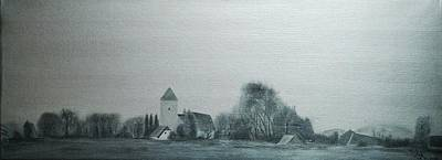 Painting - The Church Of Notitz by Ramona Boehme