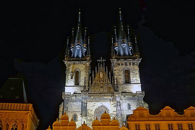 Photograph - The Church Of Our Lady Before Tyn In Prague by Richard Rosenshein