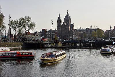 Photograph - The Church Of Sant Nicholas. Amsterdam by Jouko Lehto