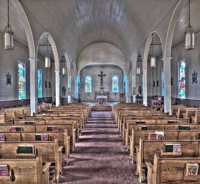 Photograph - The Church Of St. Augustine by Andy Crawford