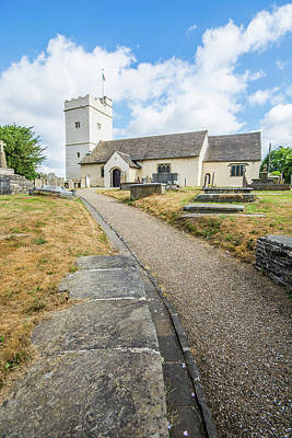 Photograph - The Church Of St Sannan Bedwellty 1 by Steve Purnell
