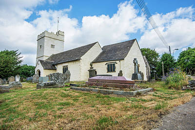 Photograph - The Church Of St Sannan Bedwellty 2 by Steve Purnell