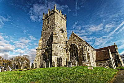 The Church Of The Lily Cross Art Print