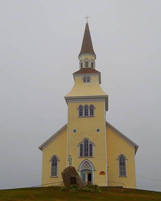 The Church Of The Sacred Heart  Art Print