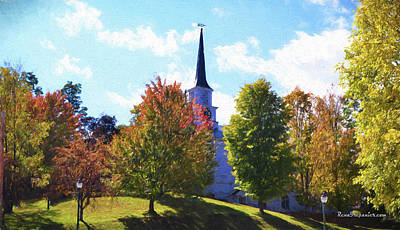 Photograph - The Church On The Hill by Rena Trepanier