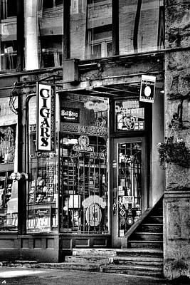 Mortar Photograph - The Cigar Store by David Patterson
