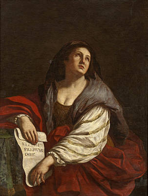 Painting - The Cimmerian Sibyl by After Guercino