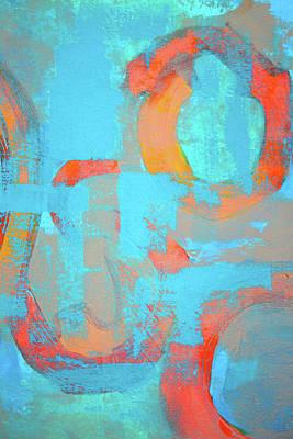 Painting - The Circle by Nancy Merkle