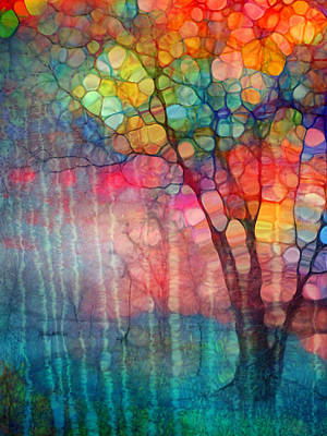 Hope Digital Art - The Circus Tree by Tara Turner